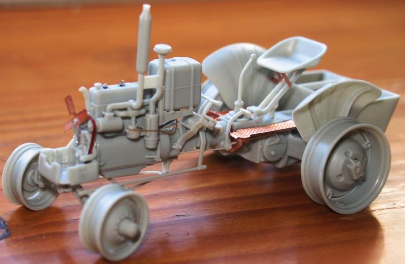 tracteur CASE VAI avec chargeur 1943  Thunder model 1/35 17961010