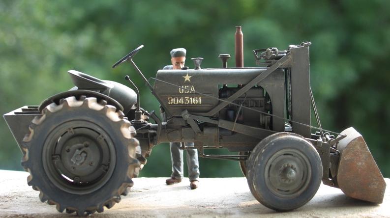 tracteur CASE VAI avec chargeur 1943  Thunder model 1/35 24169110