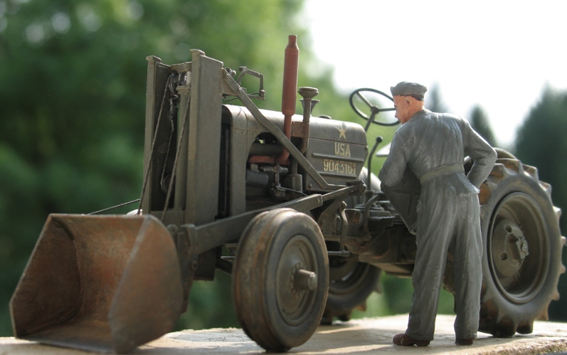 tracteur CASE VAI avec chargeur 1943  Thunder model 1/35 28153510