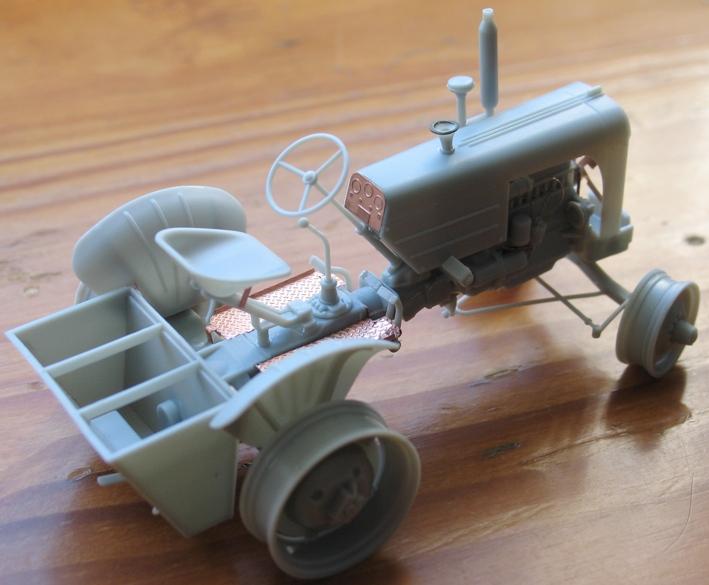 tracteur CASE VAI avec chargeur 1943  Thunder model 1/35 38760610