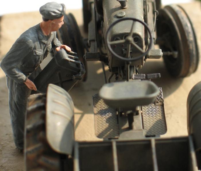 tracteur CASE VAI avec chargeur 1943  Thunder model 1/35 61950510