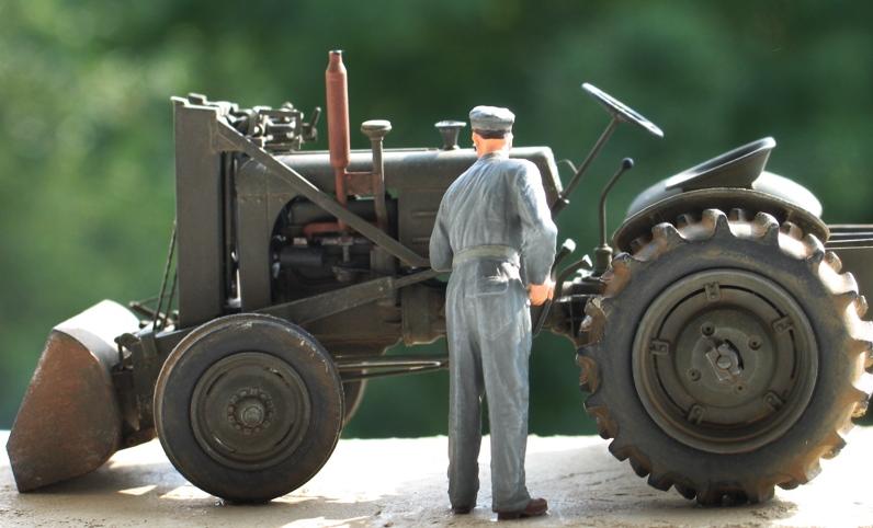 tracteur CASE VAI avec chargeur 1943  Thunder model 1/35 71779110