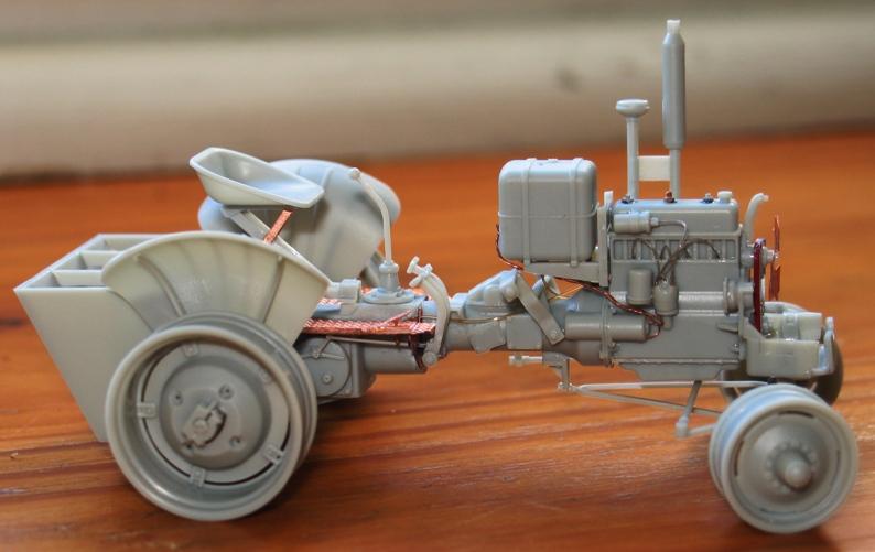 tracteur CASE VAI avec chargeur 1943  Thunder model 1/35 91819810