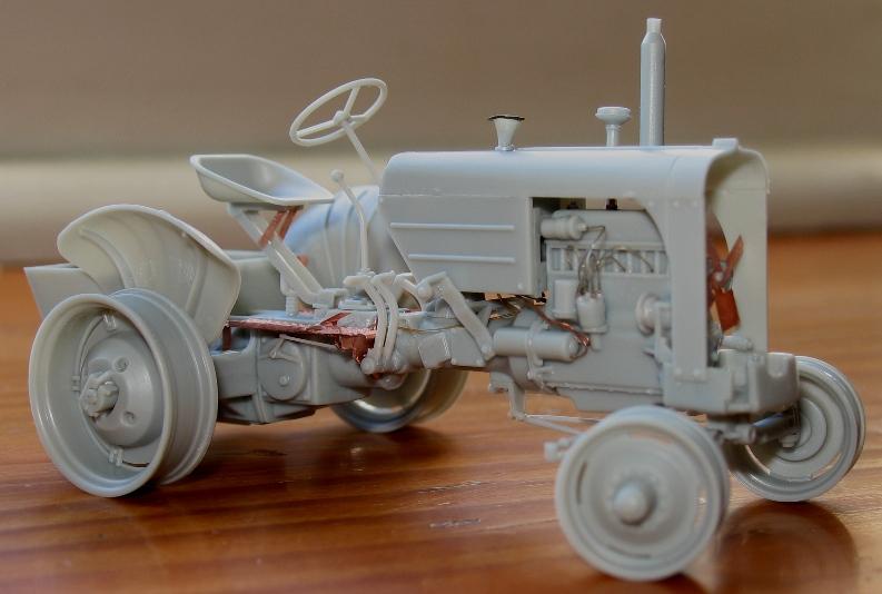 tracteur CASE VAI avec chargeur 1943  Thunder model 1/35 91974610