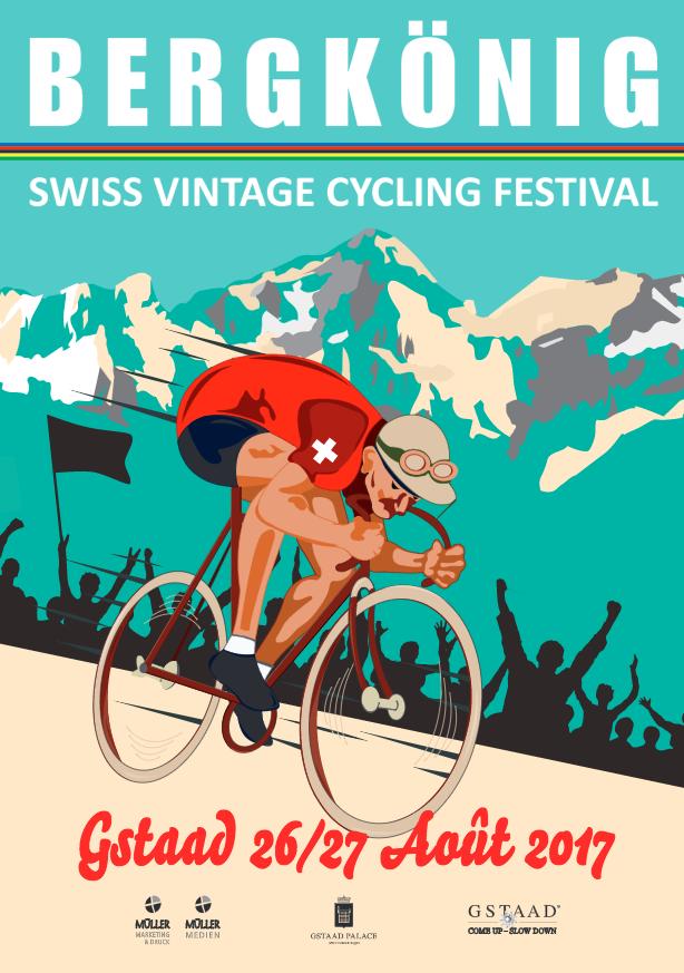 Le Bergskönig - Festival Vélo vintage - Gstaad, Suisse - 26-27 août 2017 Captur15