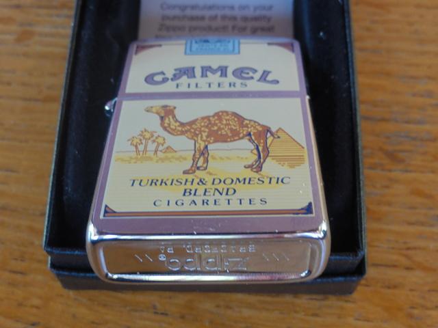 camel - Question ZIPPO Camel & vignette bleue Dsc08410