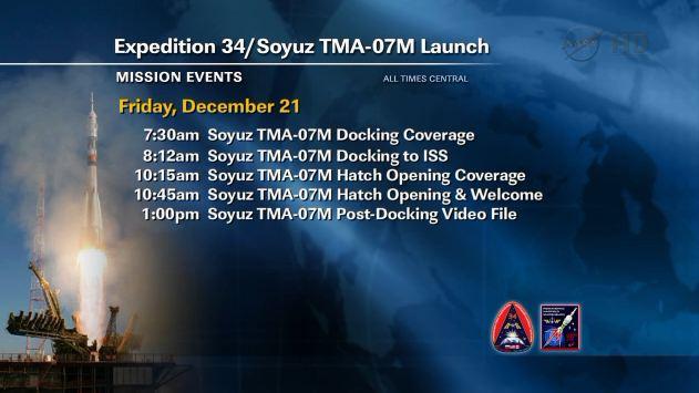 Lancement, amarrage et atterrissage de Soyouz TMA-07M  - Page 2 Captur16