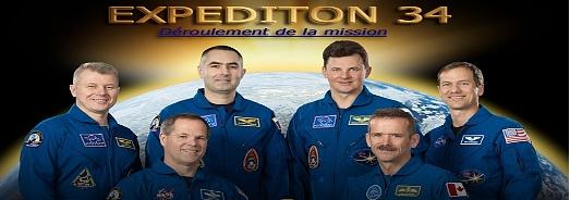 ISS-Expedition 34: Déroulement de la mission Souche10