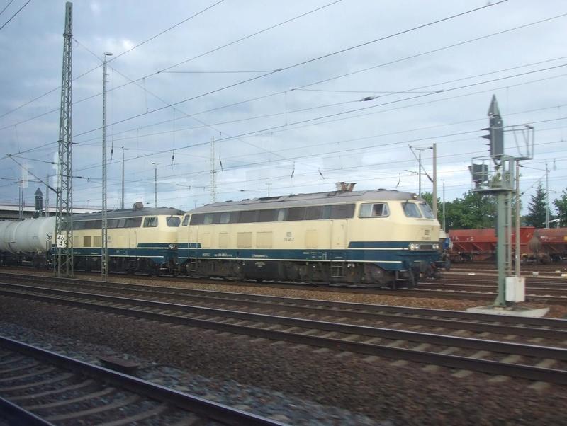 Die V160-Familie, Baureihe 210-219 der DB 21810