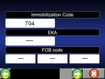 transformer code lockset bar en code fob Becm110