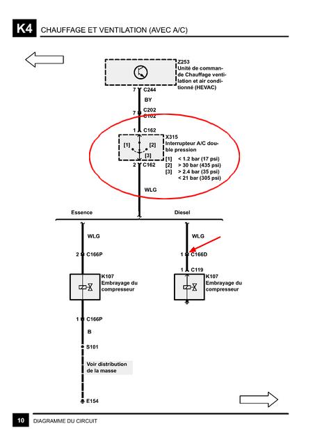 relais clim p38 gen 2 diesel Clim110