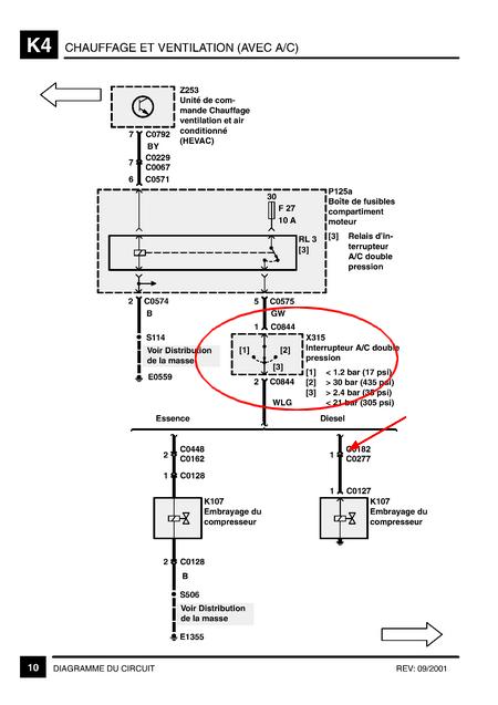 relais clim p38 gen 2 diesel Clim210