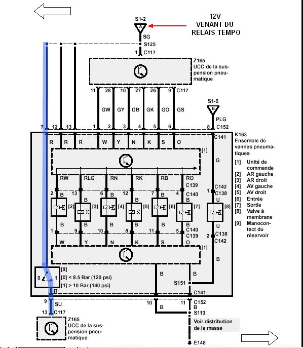 Compresseur marche uniquement en direct Comp311