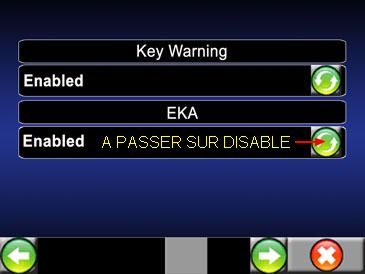 code EKA/ télécommandes Eka10