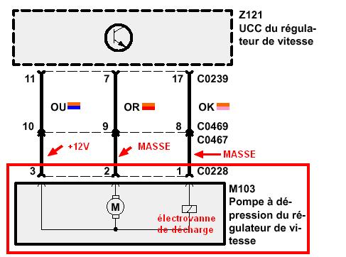 P38-Régulateur de vitesse sur V8 Test de la partie Electropneumatique Testpo10