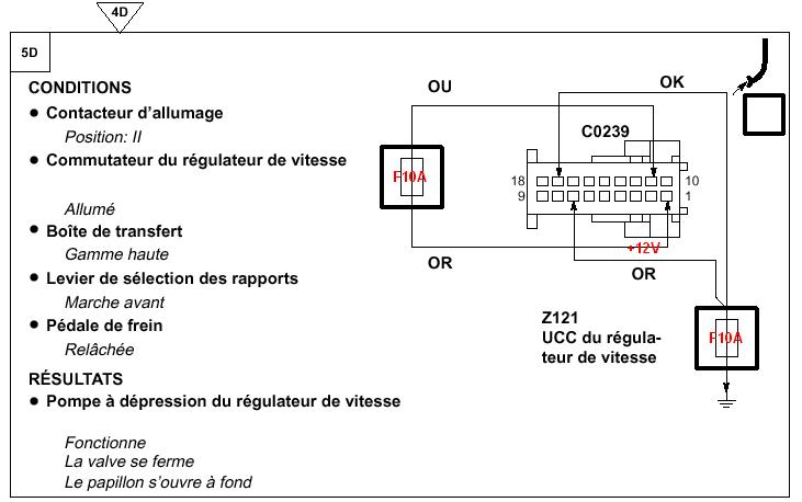 P38-Régulateur de vitesse sur V8 Test de la partie Electropneumatique Testpo11