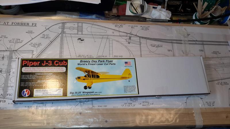 Piper Cub J3, Kit SIG Herr 302 20170710