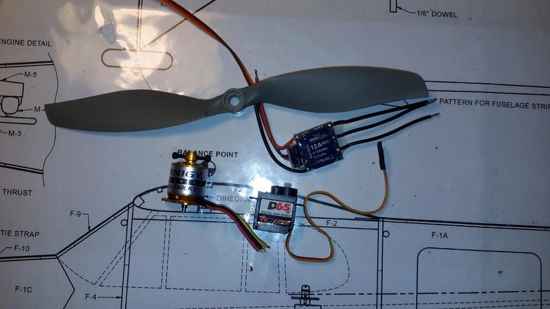 Piper Cub J3, Kit SIG Herr 302 20170730