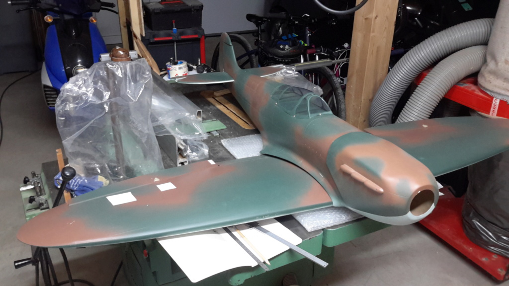 Spitfire Mk II Jamara 1800mm 20181054