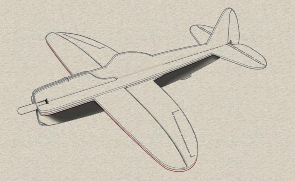Flotte de warbirds silhouettes ! P47_3d11