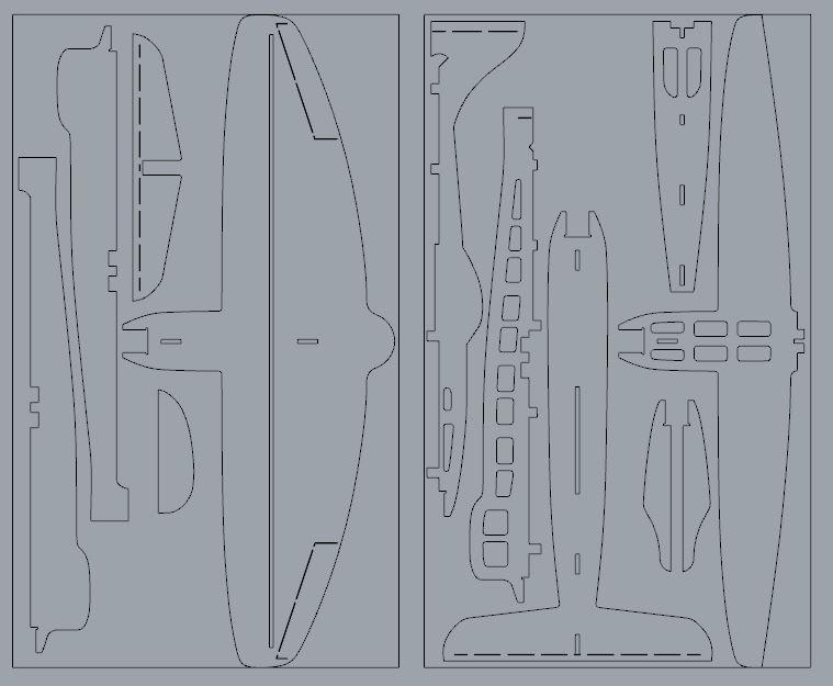 Flotte de warbirds silhouettes ! Tempes11