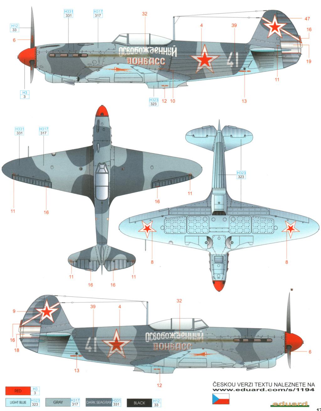 Flotte de warbirds silhouettes ! Yak-1_10