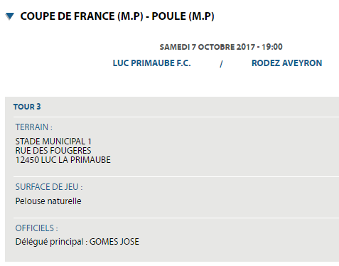 COUPE DE FRANCE 5ème Tour [Luc-Primaube (R1) - Rodez (N1)]   7 OCTOBRE 2017 Ra11