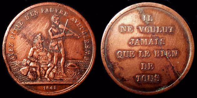 Médaille Révolution 1848 1488bi10