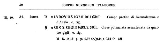 Denier de Jeanne de Naples et Louis de Tarente pour Naples  Cni_pa10