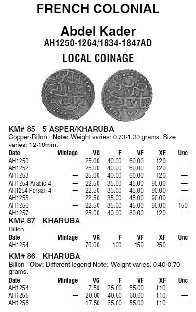 Asper/Kharuba algérien d'Abdel Kader ... Km8710