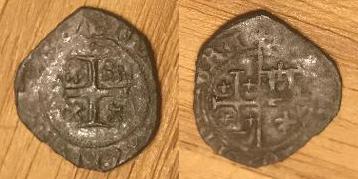 Denier de Jeanne de Naples et Louis de Tarente pour Naples  Monnai10