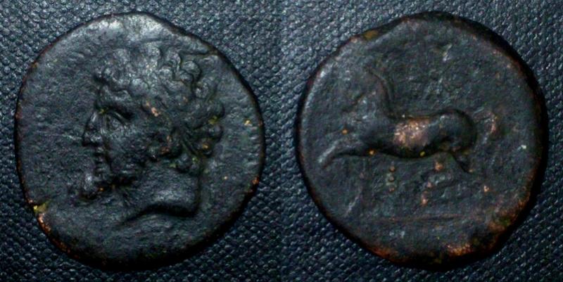 Piece de monnaie numide  Numide10