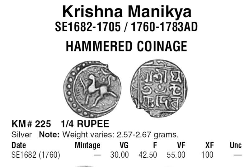 Indienne en argent Tripur10