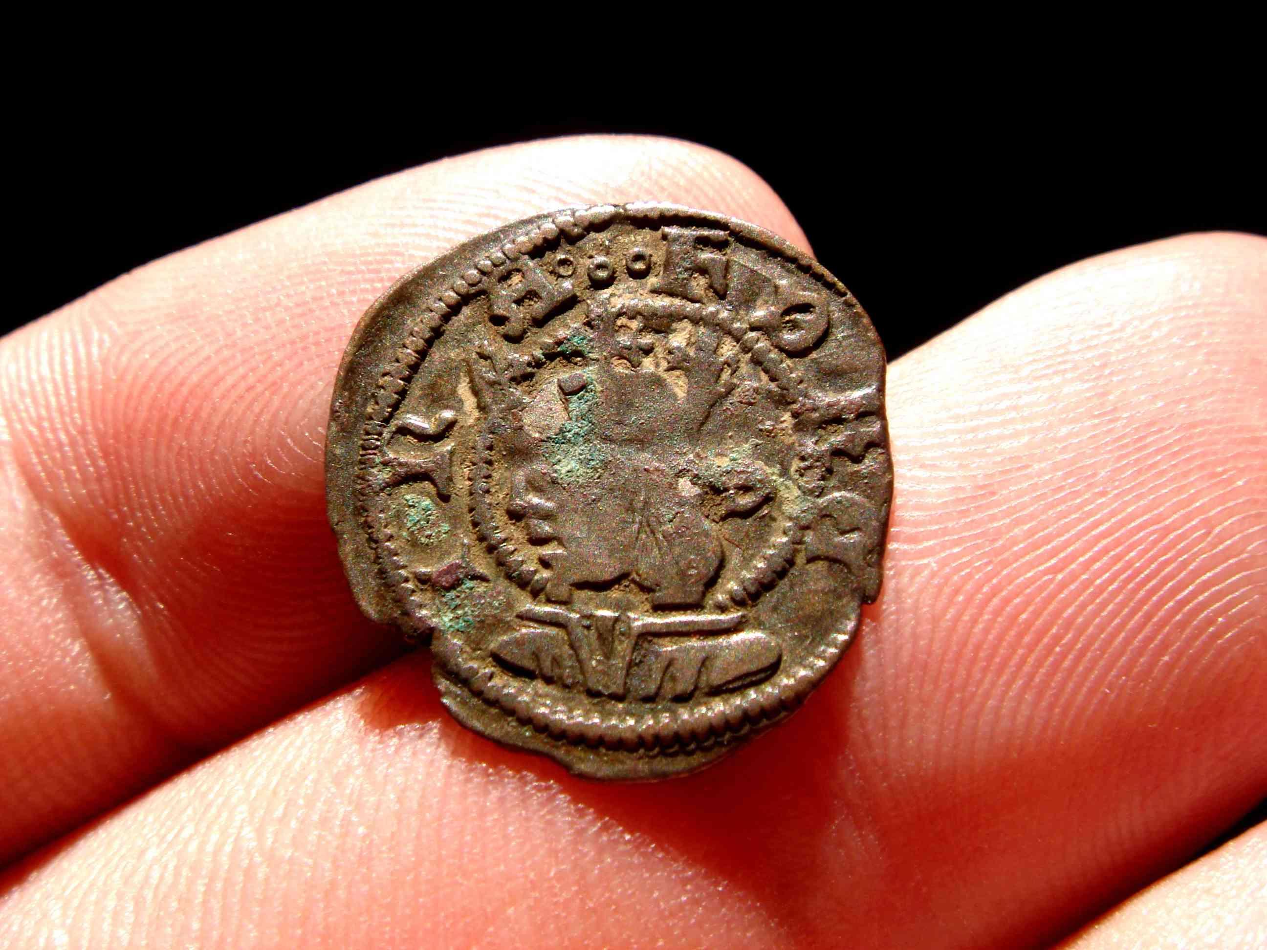 Dinero de Fernando II de Aragón muy bonito 13315_11