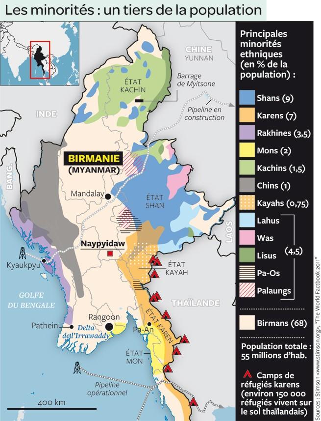 Le labyrinthe ethnique - 135 ethnies pour 51 millions d'habitants 21545010