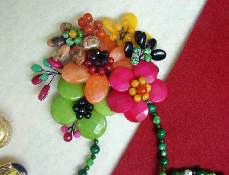 """""""Flori de piatră-Bijoux"""" albumul II-bijuterii artizanale marca Didina Sava - Pagina 10 00710"""