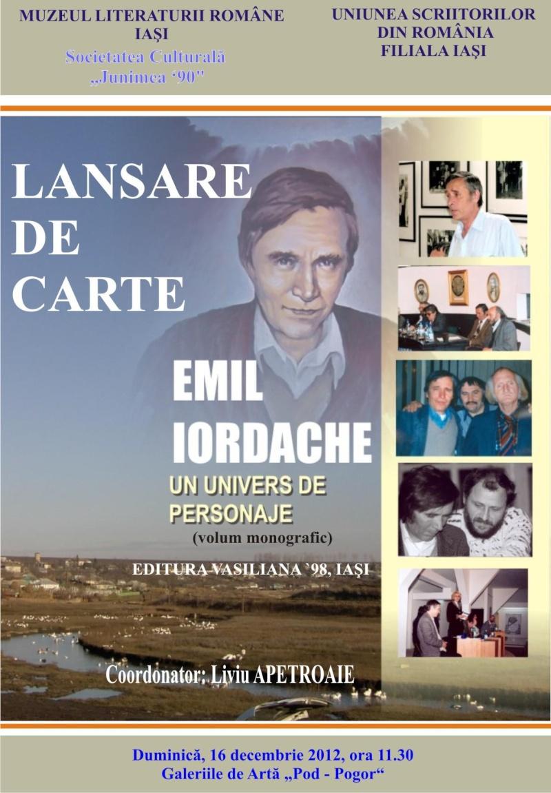"""""""Emil Iordache, un univers de personaje""""- 16 dec 2012 Afis10"""