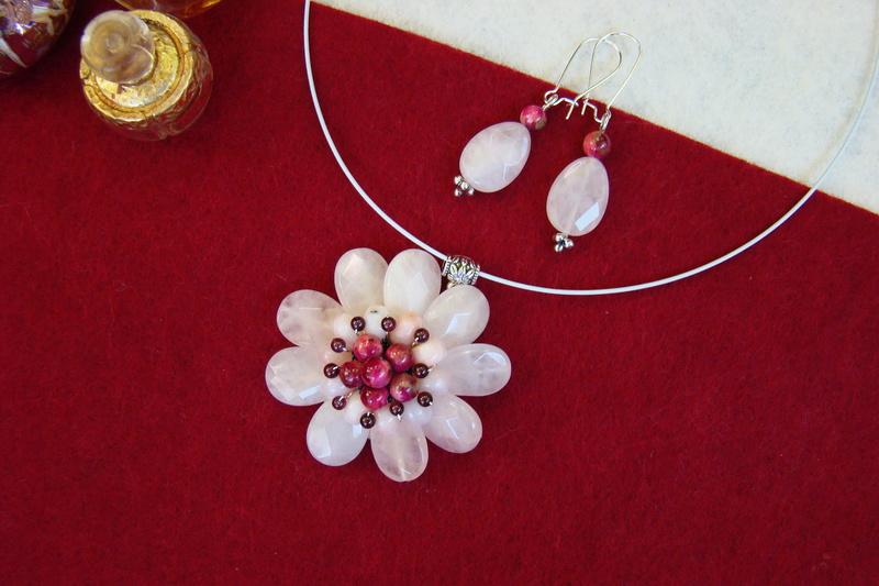"""""""Flori de piatră-Bijoux"""" albumul II-bijuterii artizanale marca Didina Sava - Pagina 9 Colie108"""