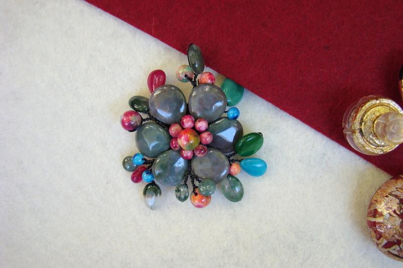 """""""Flori de piatră-Bijoux"""" albumul II-bijuterii artizanale marca Didina Sava - Pagina 11 Colie116"""