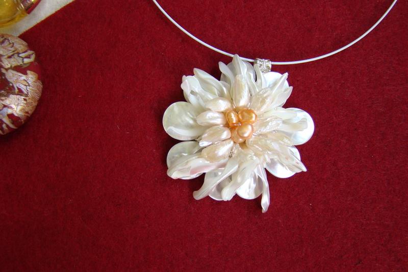 """""""Flori de piatră-Bijoux"""" albumul II-bijuterii artizanale marca Didina Sava - Pagina 10 Colie118"""