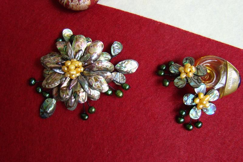 """""""Flori de piatră-Bijoux"""" albumul II-bijuterii artizanale marca Didina Sava - Pagina 11 Colie127"""