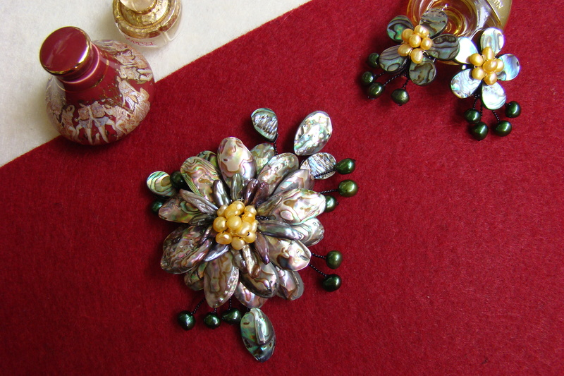 """""""Flori de piatră-Bijoux"""" albumul II-bijuterii artizanale marca Didina Sava - Pagina 11 Colie128"""