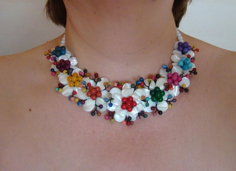 """""""Flori de piatră-Bijoux"""" albumul II-bijuterii artizanale marca Didina Sava - Pagina 10 Colier18"""