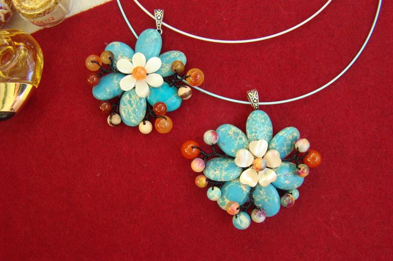 """""""Flori de piatră-Bijoux"""" albumul II-bijuterii artizanale marca Didina Sava - Pagina 10 Colier33"""