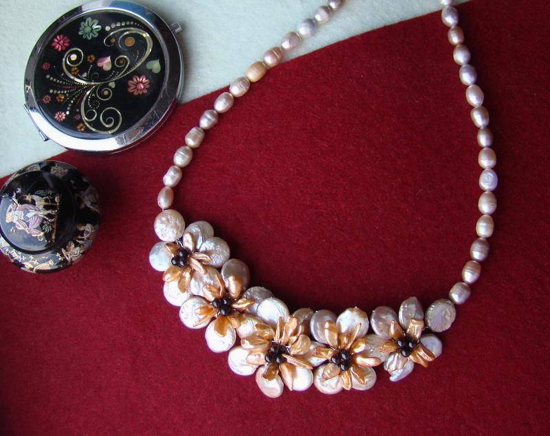 """""""Flori de piatră-Bijoux"""" albumul II-bijuterii artizanale marca Didina Sava - Pagina 9 Colier47"""