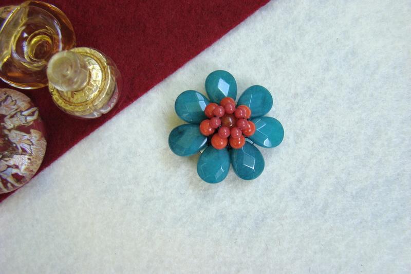 """""""Flori de piatră-Bijoux"""" albumul II-bijuterii artizanale marca Didina Sava - Pagina 9 Colier73"""