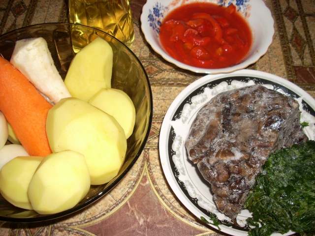 Ciorbe,supe, borsuri de legume si cu carne Fasole11