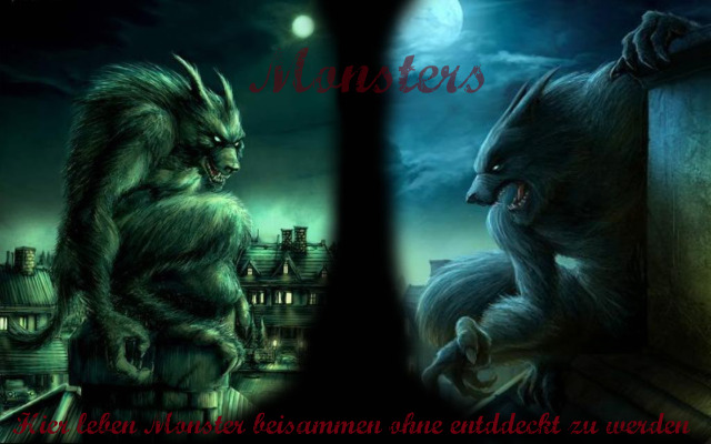 The monsters live