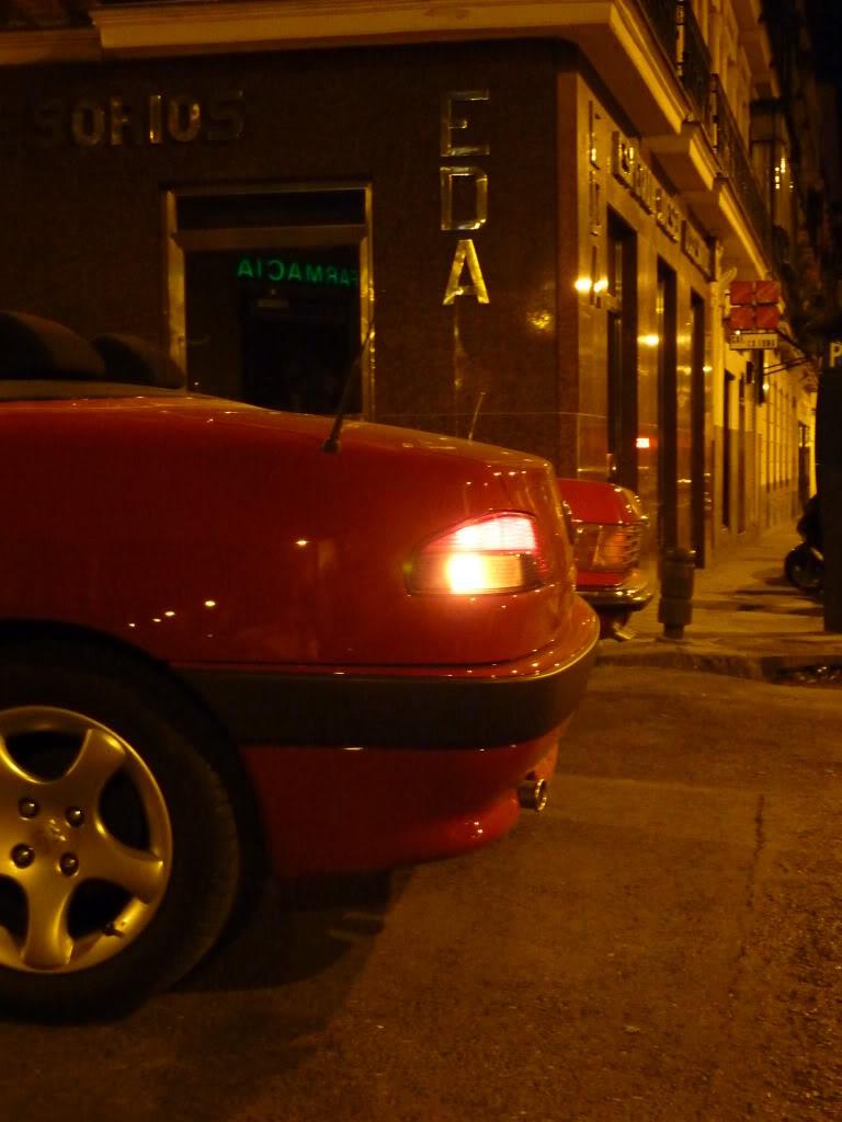 [ FOTOS ] 306 Cabrio vs/ Mercédes SL P1020412