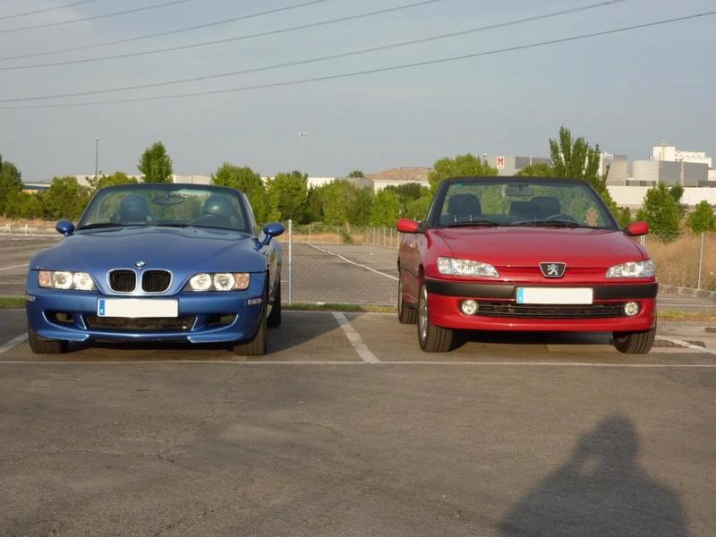 [ FOTOS ] 306 Cabrio vs/ BMW Z3 M P1030910